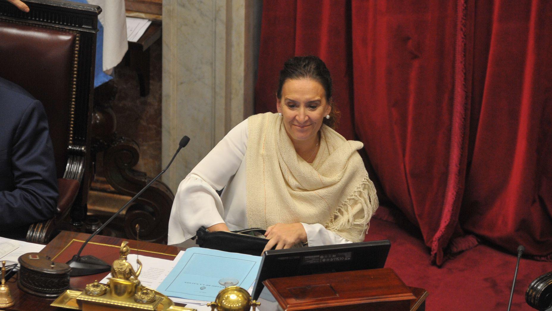 La senadora Gabriela Michetti