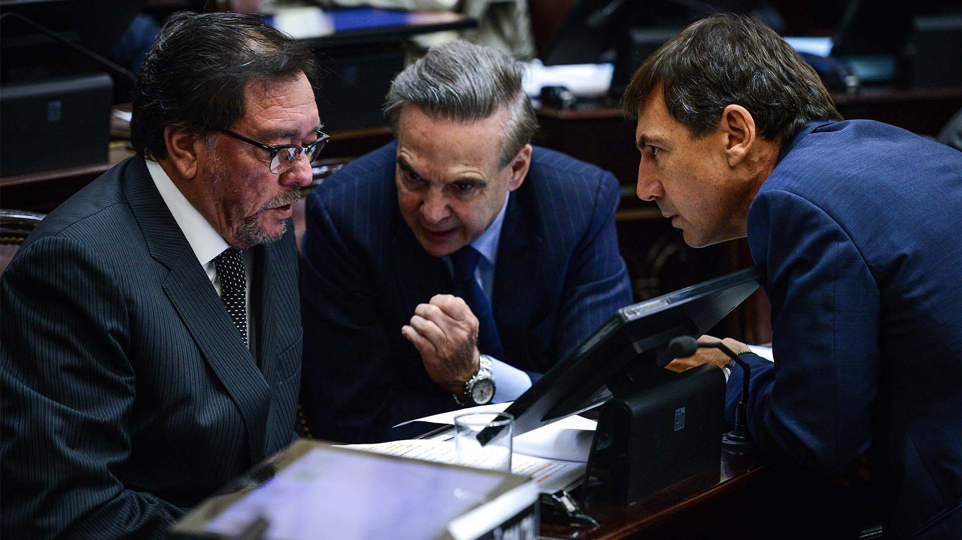 Tres senadores a favor del aborto legal: Pedro Guastavino, Miguel Pichetto y Luis Naidenoff