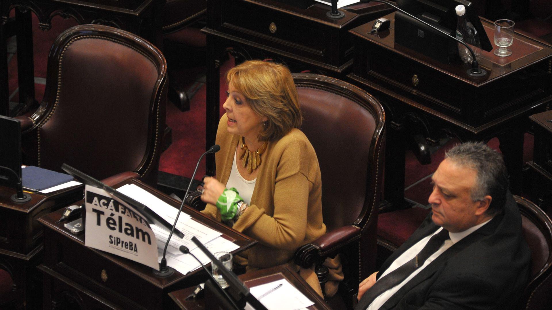 Los senadores de La Pampa Norma Durango y Daniel Lovera