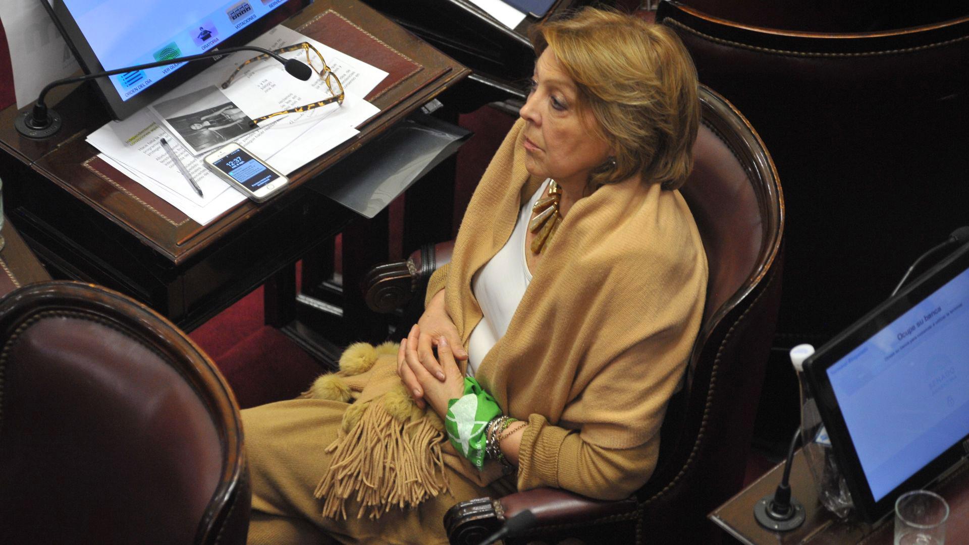 La senadora de La Pampa Norma Durango