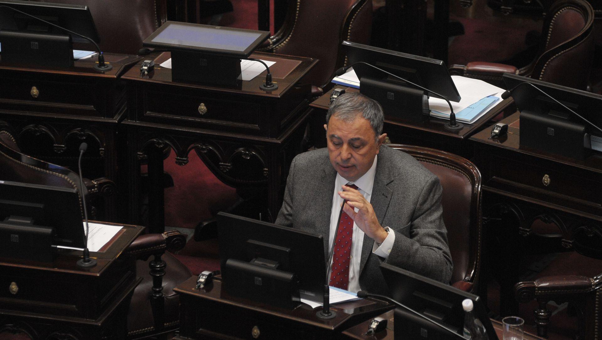 El senador justicialista Rodolfo Urtubey