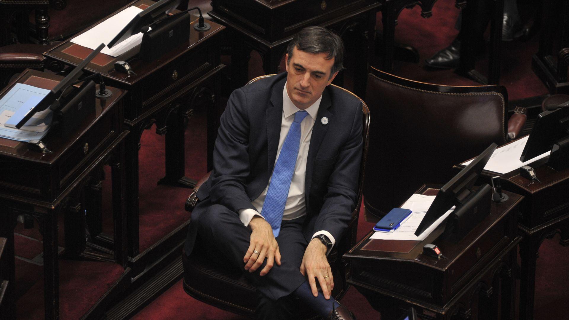 El senador de Cambiemos Esteban Bullrich