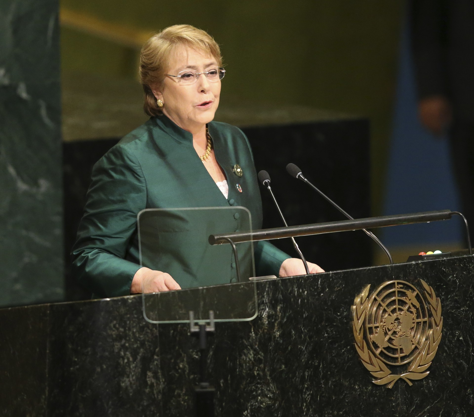 Gender equality will be one of the actions of the management of the Bachelet at the UN (AP Photo / Seth Wenig, File)
