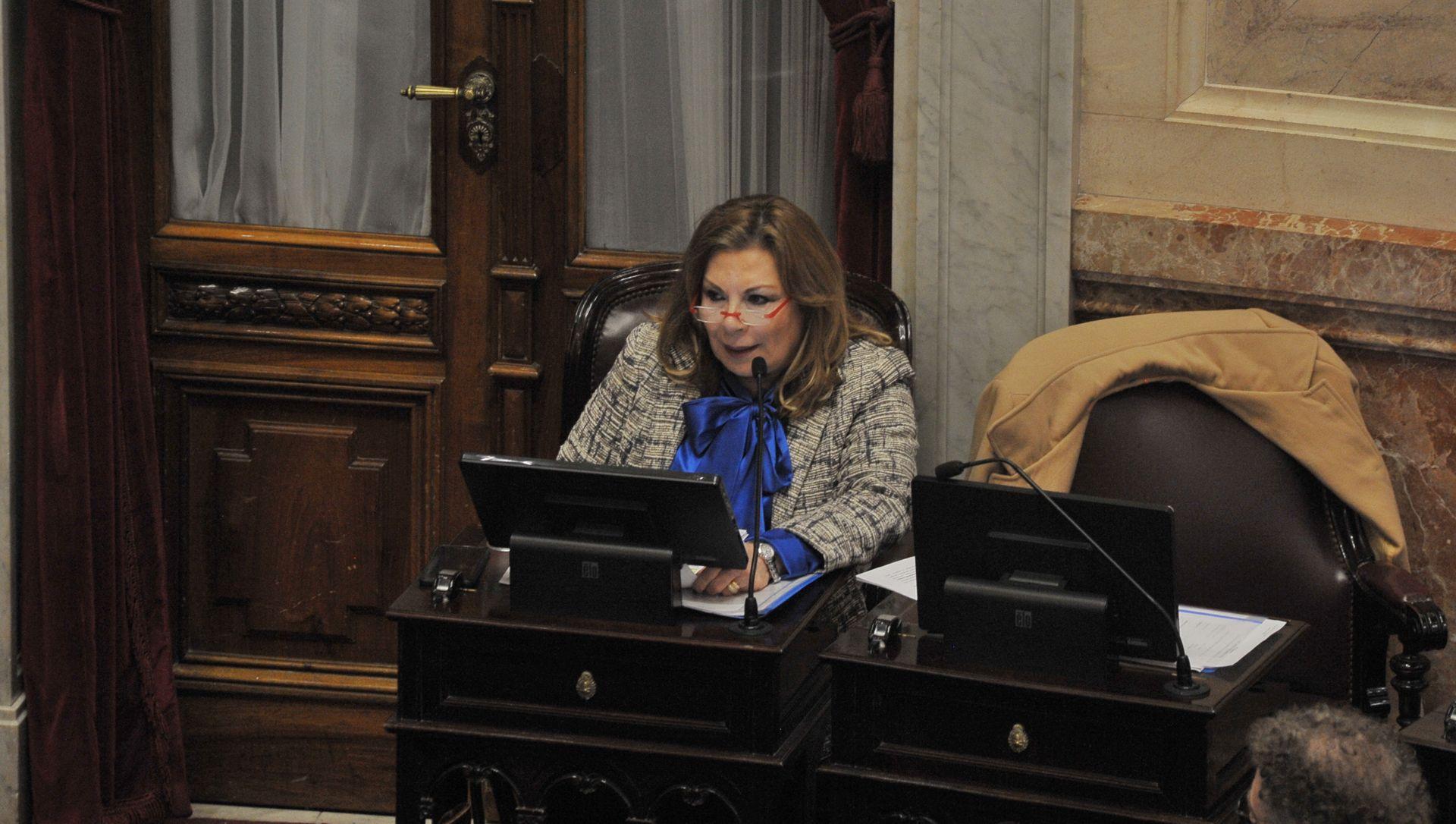 La senadora por Santiago del Estero, Ada Itúrrez de Capellini