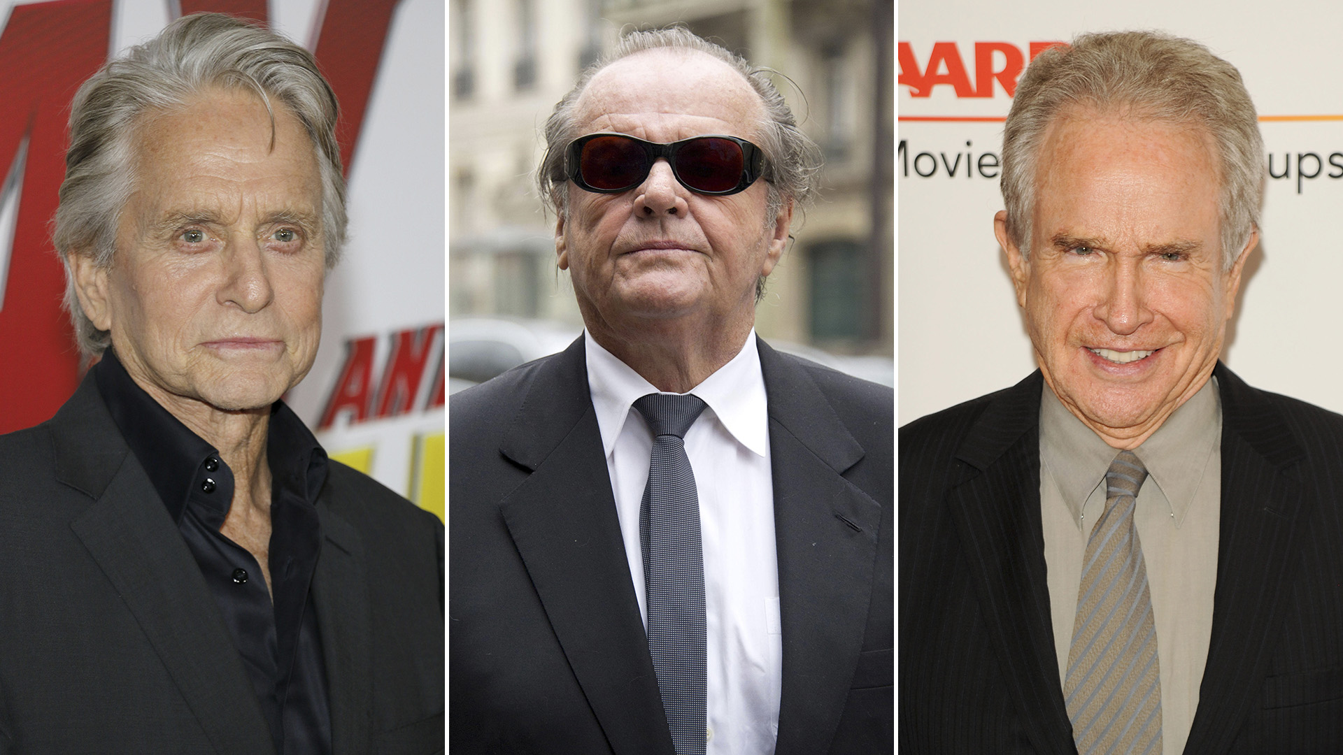 Michael Douglas, Jack Nicholson y Warren Beatty en competencia por conquistar a Kathleen Turner