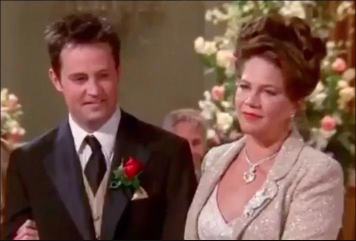 Turner interpretó al padre de Chandler Bing en la serie Friends (NBC)