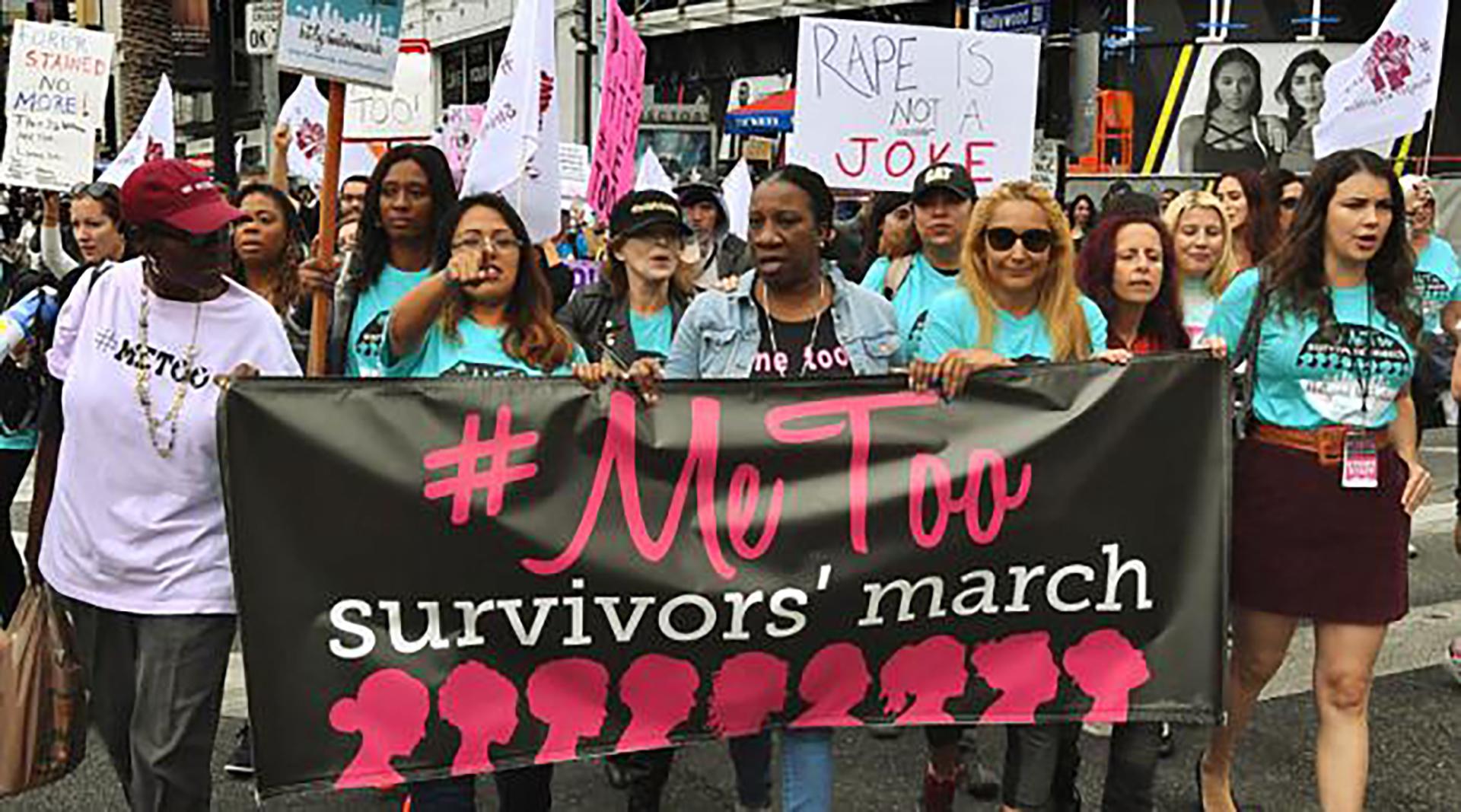 La gran cantidad de candidatas mujeres coincide con el ascenso del movimiento #MeToo