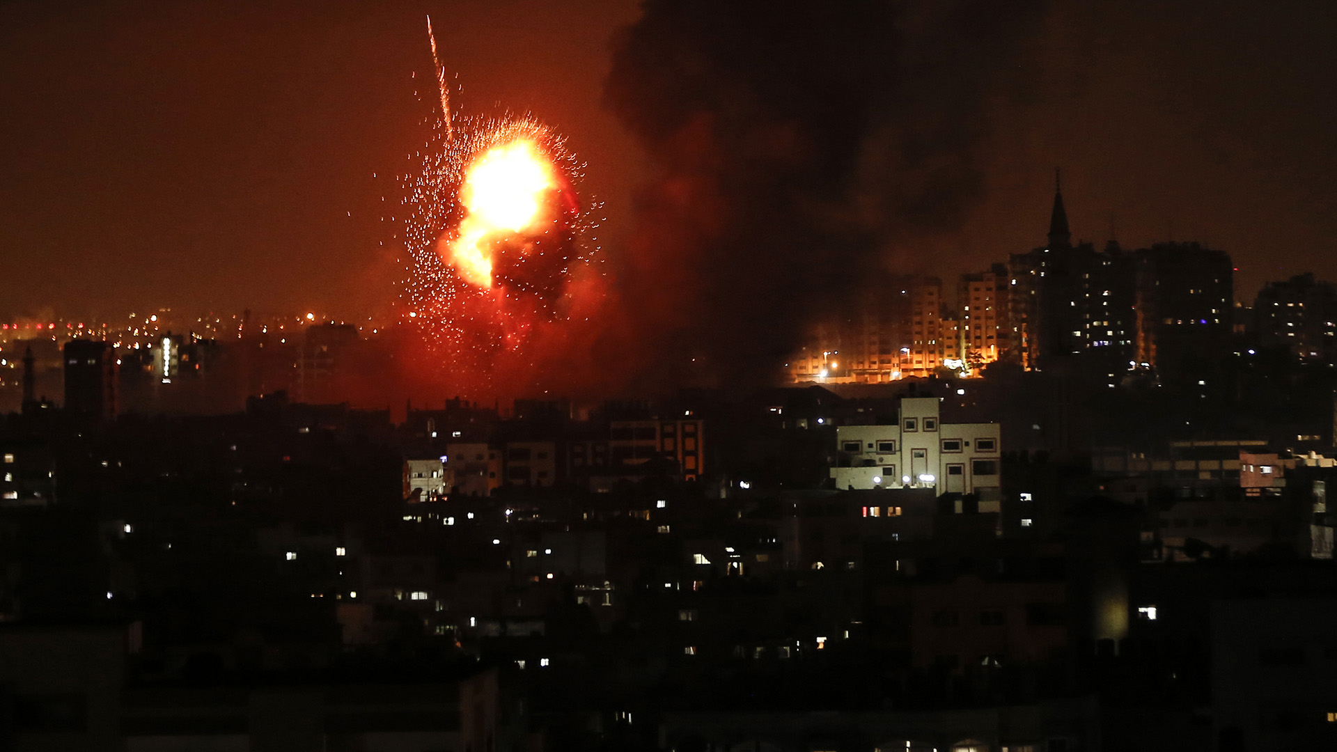 Tras los ataques, se acordó una tregua (AFP)
