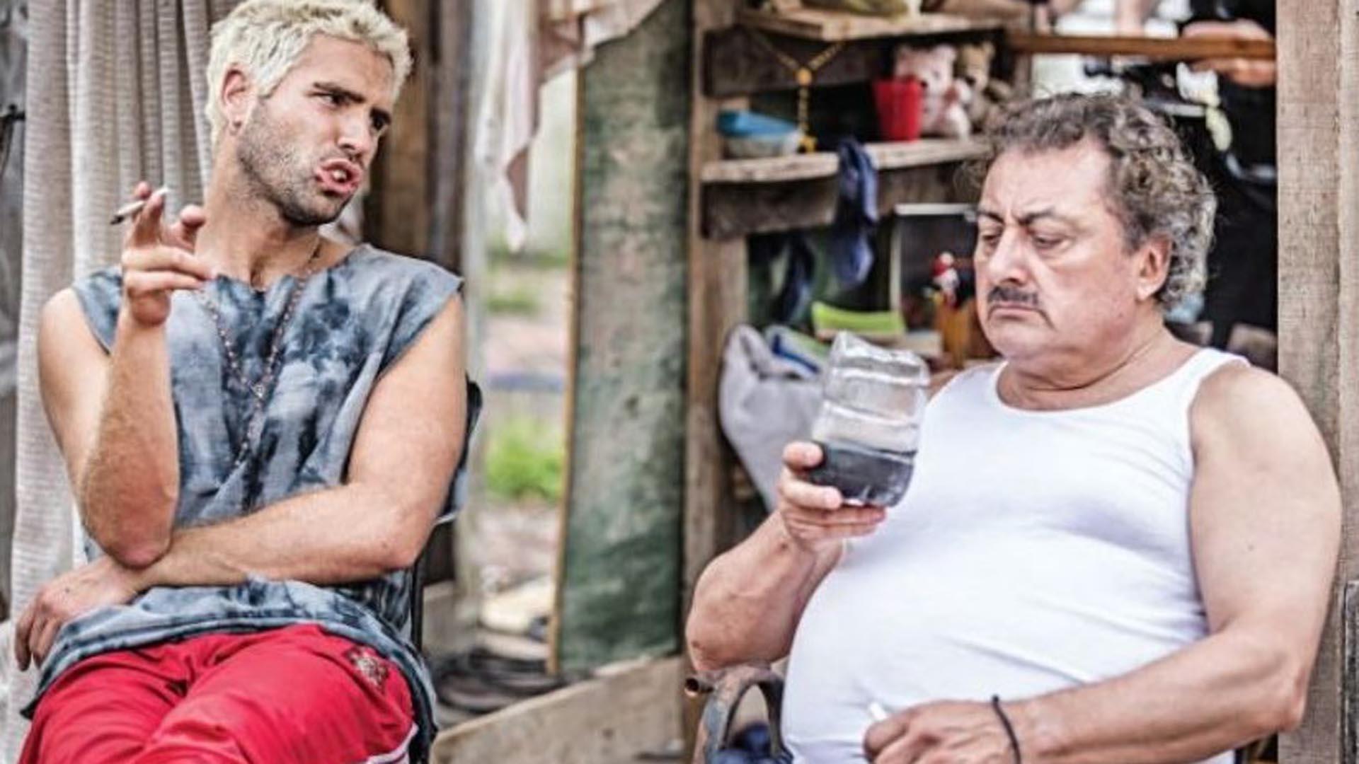 """Los hermanos Borges (Nico Furtado y Claudio Rissi), """"El Marginal"""""""