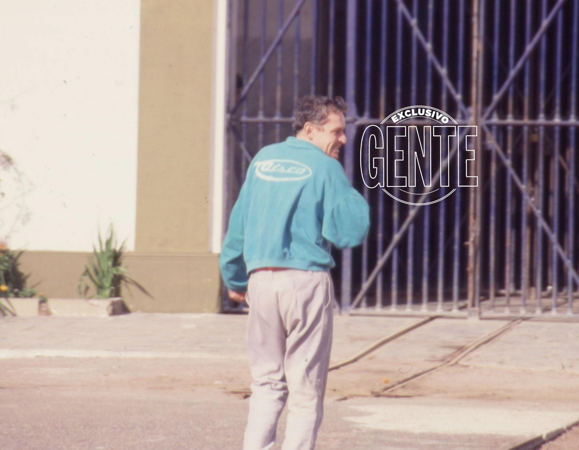 Una foto de 1992, cuando GENTE lo entrevistó. En esa época apoyaba a Aldo Rico.