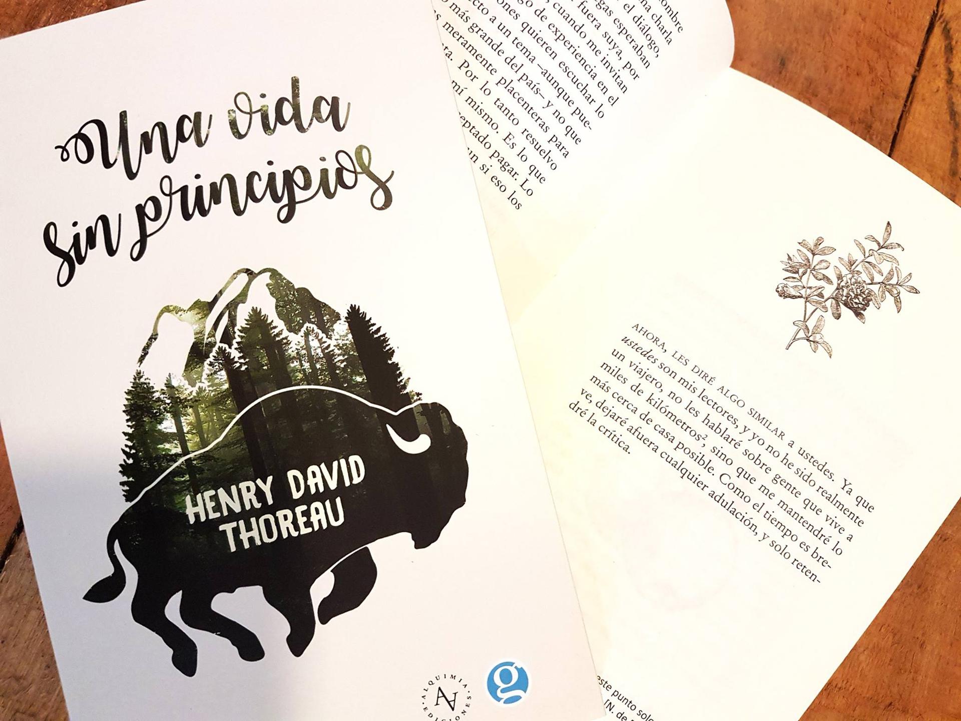 """""""Una vida sin principios"""" de Henry David Thoreau (Ediciones Godot, 2017)"""