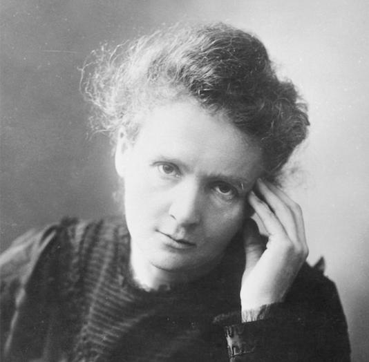 Marie Curie, científica polaco-francesa, descubridora del radio y el polonio, pionera de los tratamientos contra el cáncer. (Museo de Ciencia y Tecnología de Suecia)