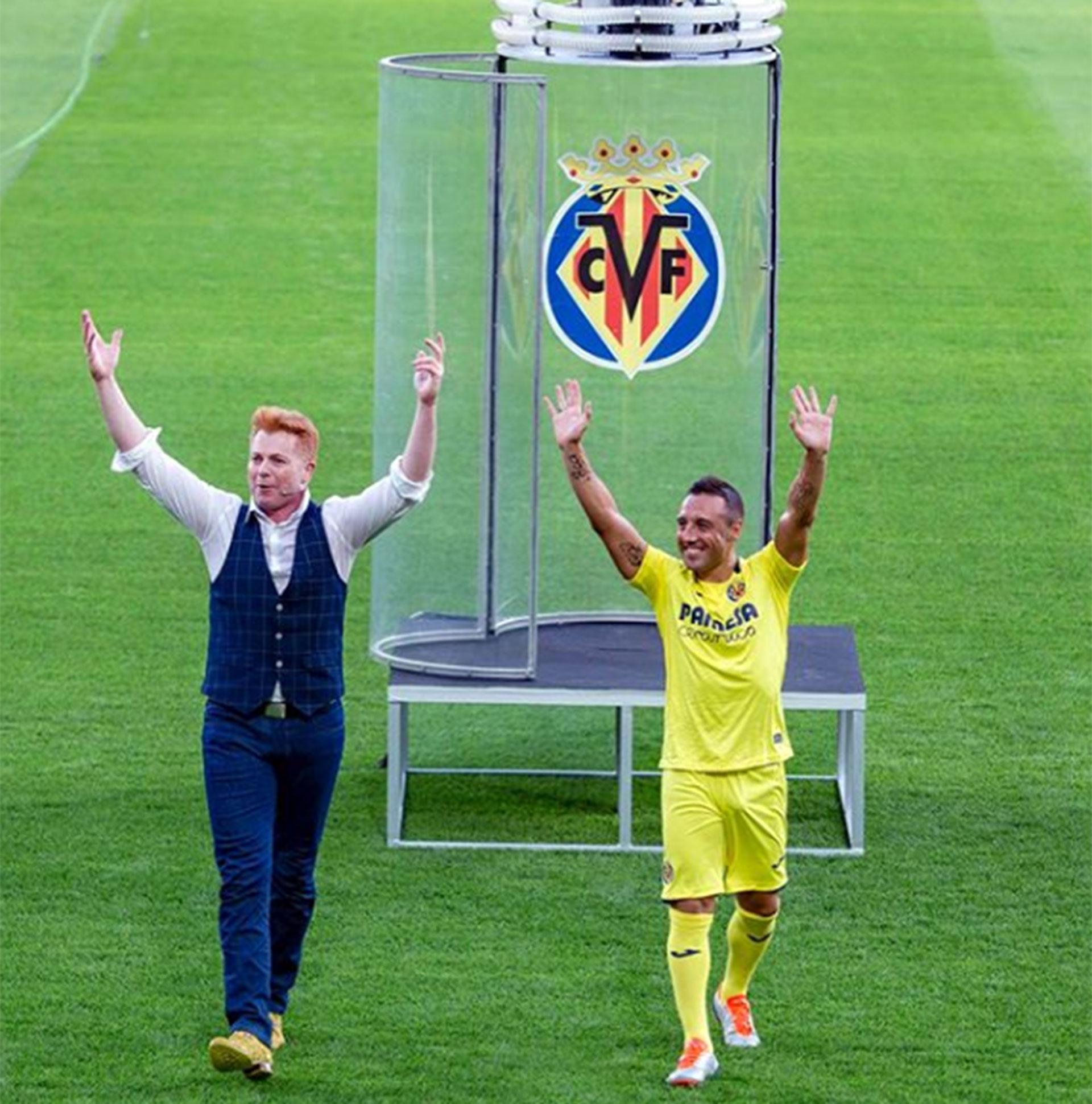 Cazorla es el nuevo refuerzo del Villareal en esta temporada