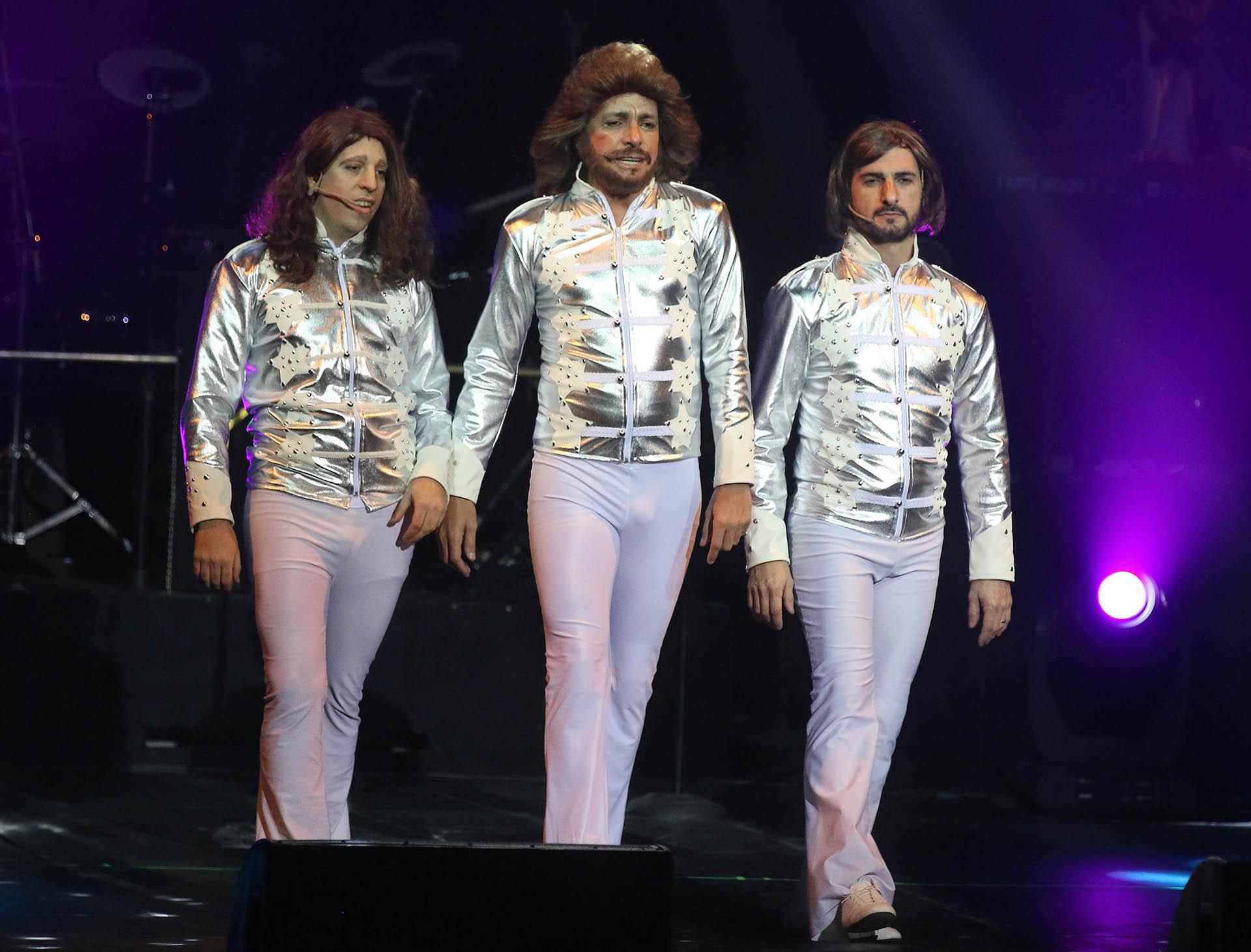 La imitación a los Bee Gees