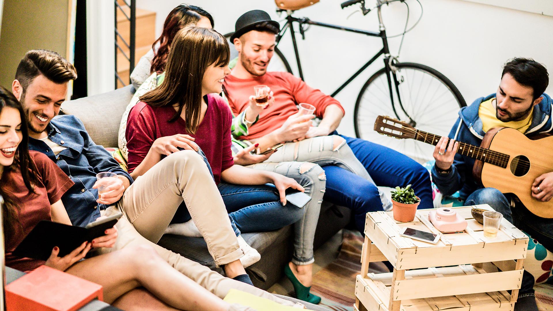La investigación de la UCA abarcó el estudio de 4689 jóvenes urbanos entre 18 y 29 años de los principales aglomerados urbanos de la Argentina. (Getty)