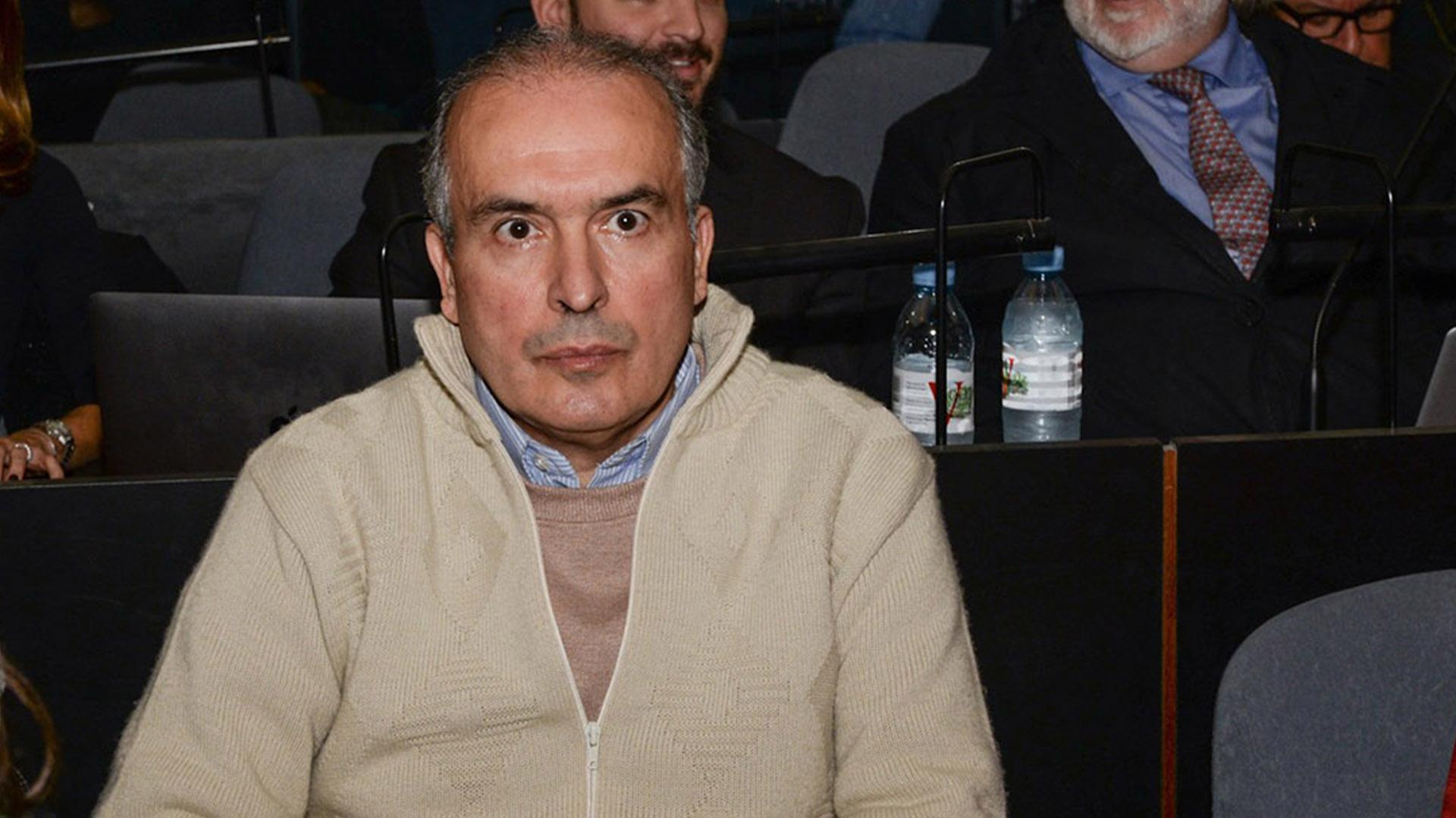 López declaró durante 50 minutos y sólo respondió preguntas de su defensa (Julieta Ferrario)
