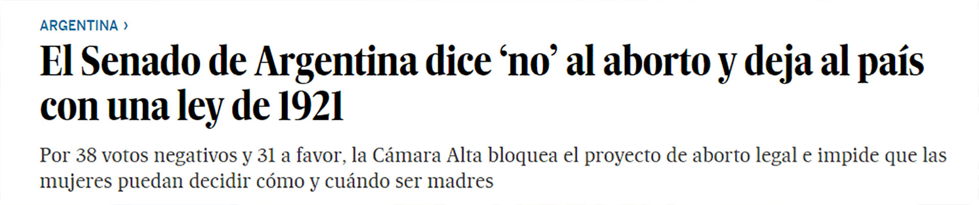 """La cobertura """"militante"""" que hizo el diario español El País"""