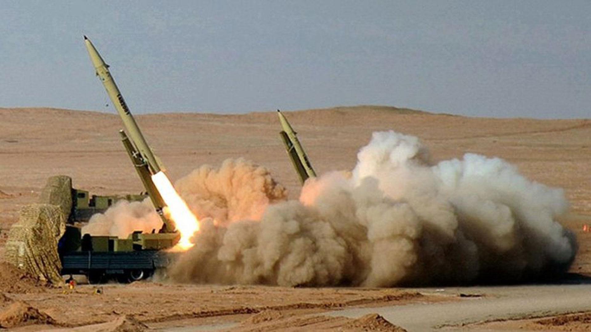 El misil iraní Fateh-110, durante una demostración (Imagen de archivo)