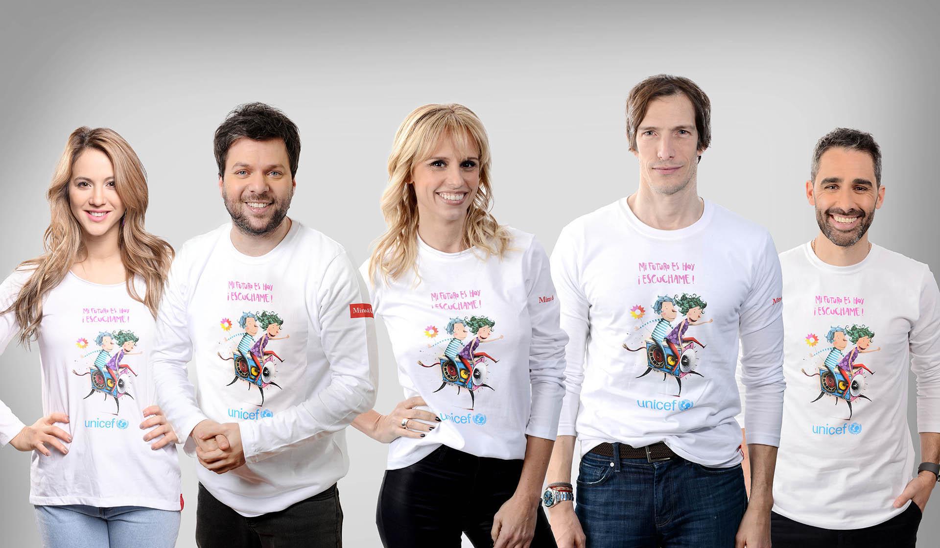 """A los históricos conductores Guido Kaczka y Mariana Fabbiani se sumaron Flor Vigna, Iván de Pineda y Joaquín """"El Pollo"""" Álvarez"""