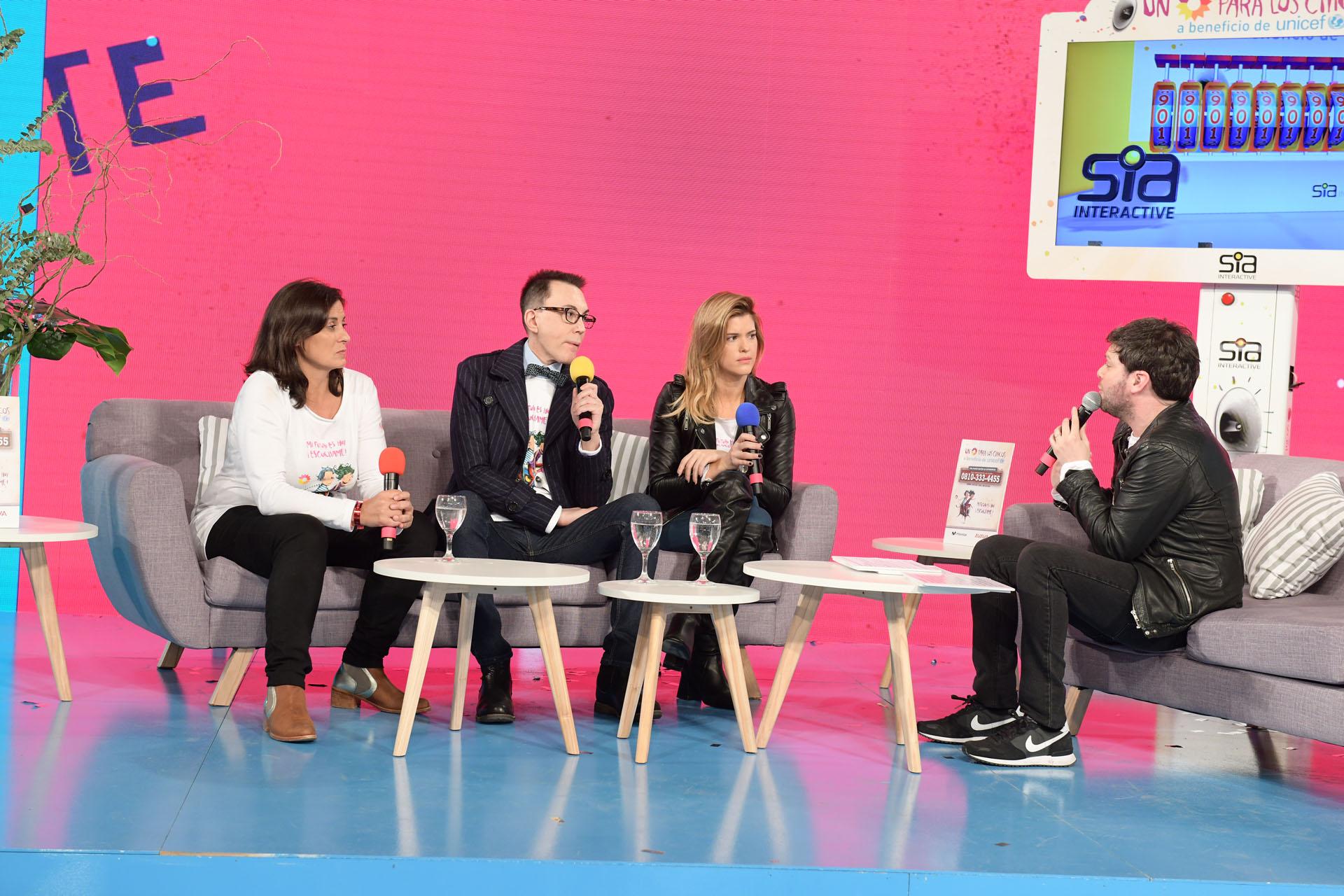 María del Cerro y Marcelo Polino también estuvieron presentes