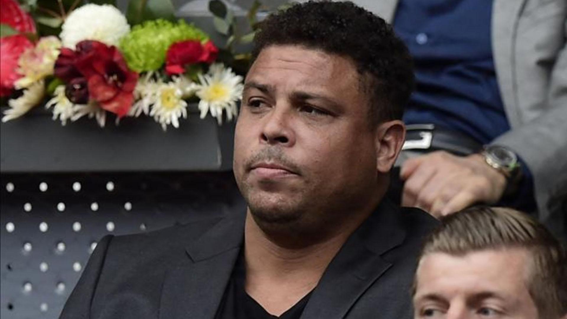 Ronaldo opinó sobre el cambio de sede de la final de la Copa Libertadores