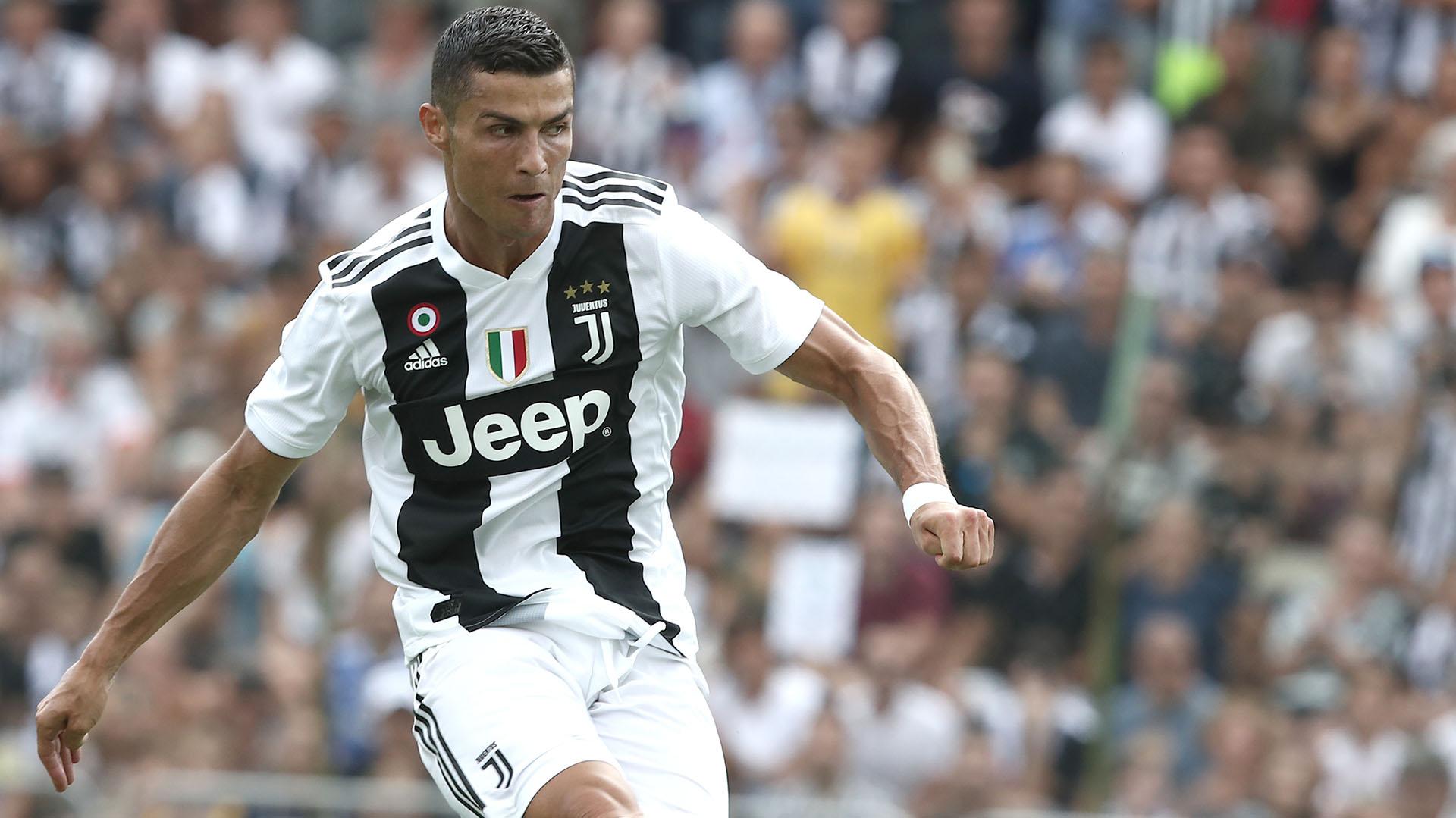 Cristiano Ronaldo debutará oficialmente en la Juventus (AFP PHOTO / Isabella Bonotto)