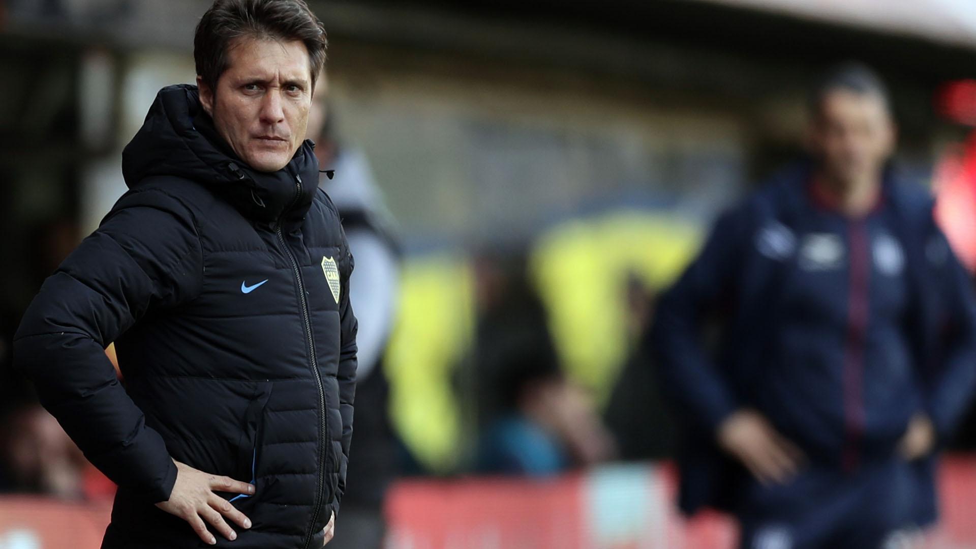 Guillermo Barros Schelotto confirmó la lista de concentrados para recibir a River por la Libertadores (AFP)