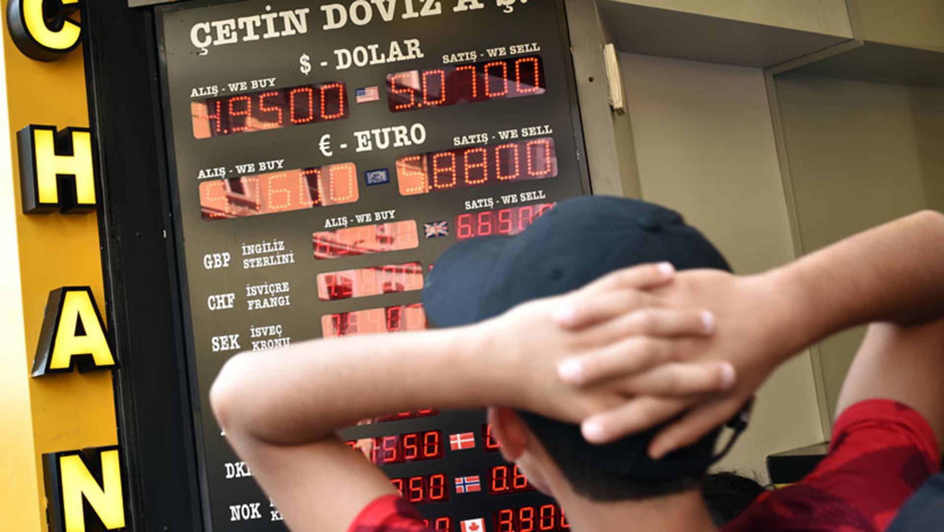 El desplome de la lira turca pone bajo mayor presión a la cotización local  del dólar - Infobae