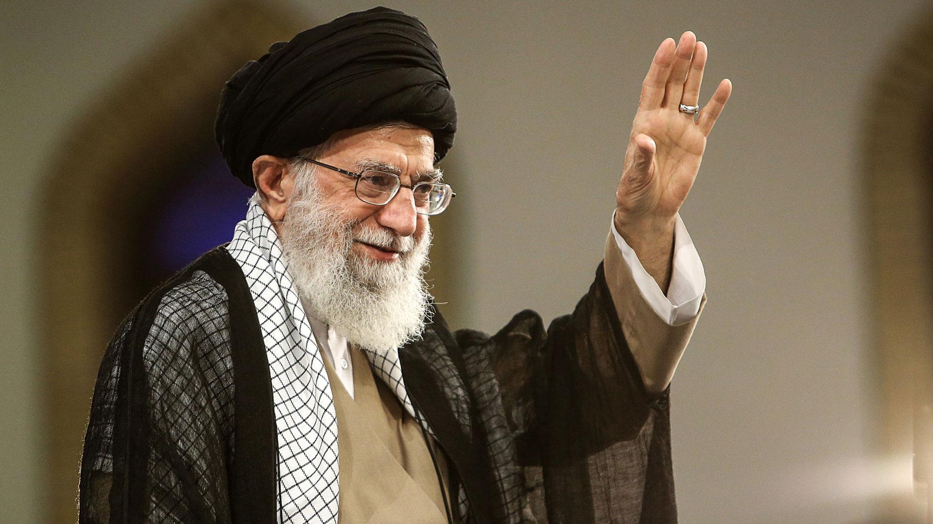 El líder supremo de Irán, ayatolá Ali Khamenei (AFP)