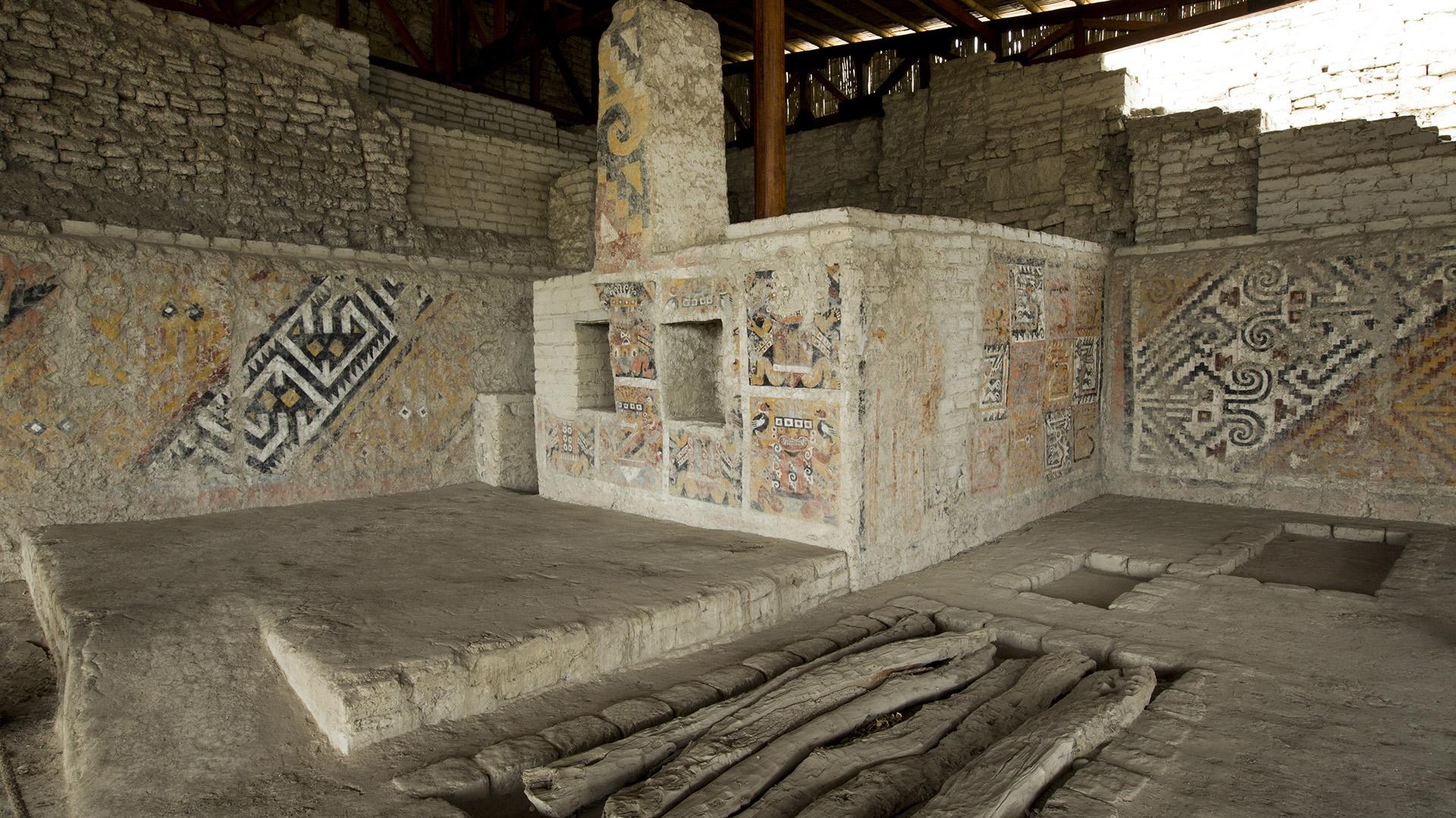 Huaca Cao Viejo. Complejo Arqueológico El Brujo