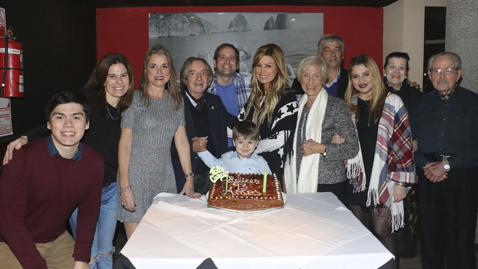 El año pasado, el comediante celebró su cumpleaños rodeado por sus familiares y amigos (Verónica Guerman / Teleshow)