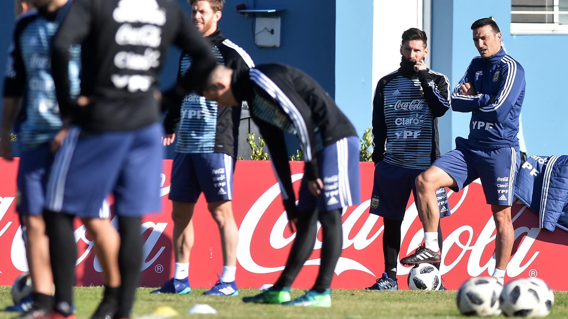 Lionel Messi jugaría el primero de los dos amistosos que tiene pautados la Selección el mes próximo (FotoBAIRES)