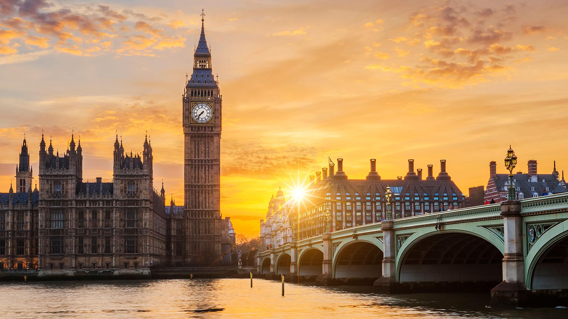 El Big Ben, símbolo de Londres (Getty)