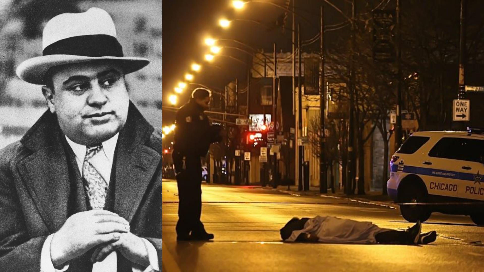 Al Capone y el resurgimiento de la violencia en Chicago.