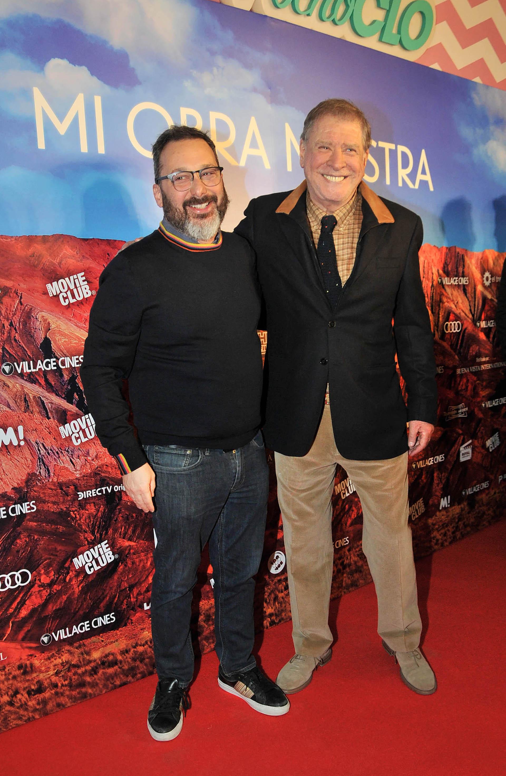 Gerardo Rozín y Arturo Puig