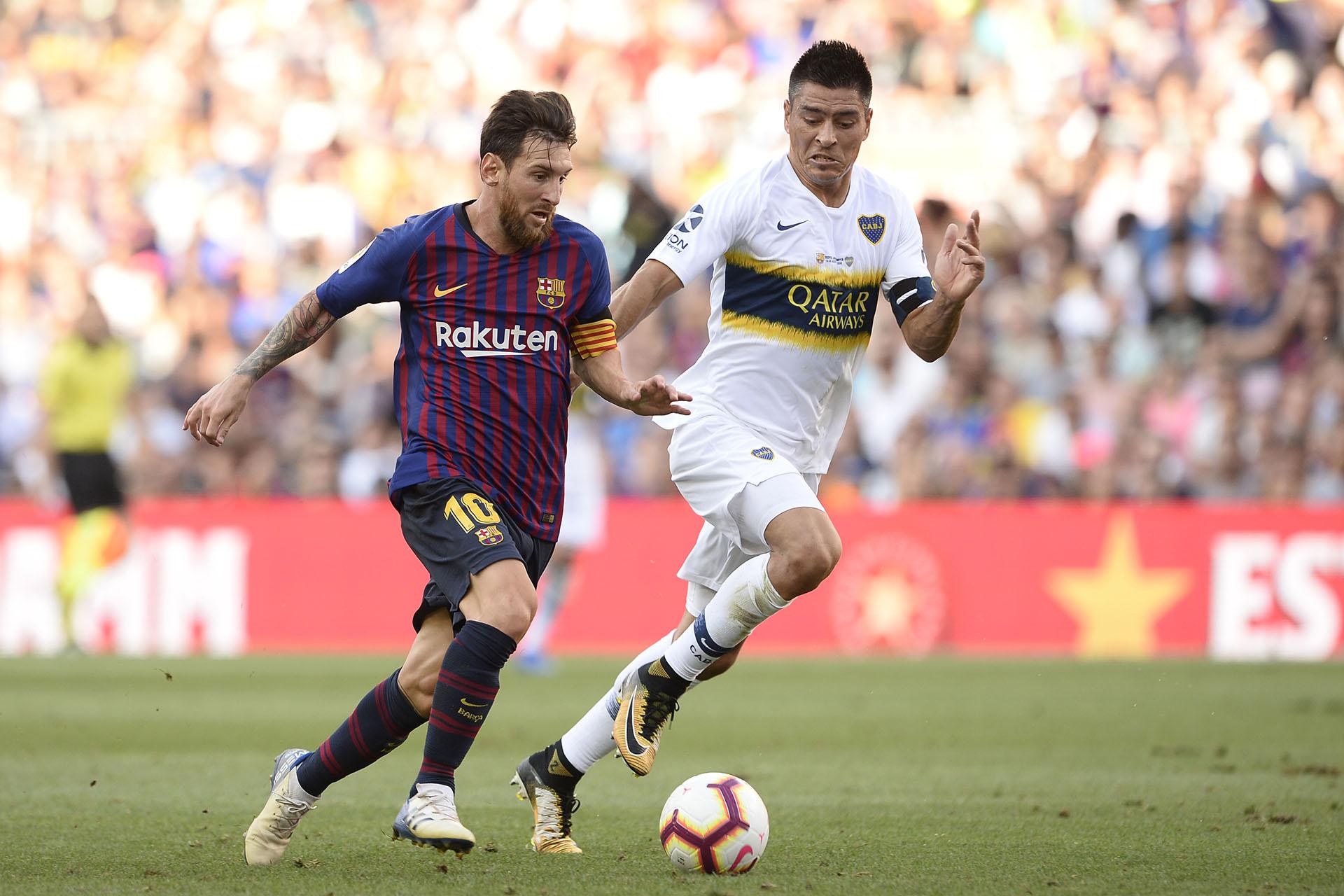 Barcelona y Boca vuelven a tener acción en sus ligas este fin de semana (AFP PHOTO / Josep LAGO)