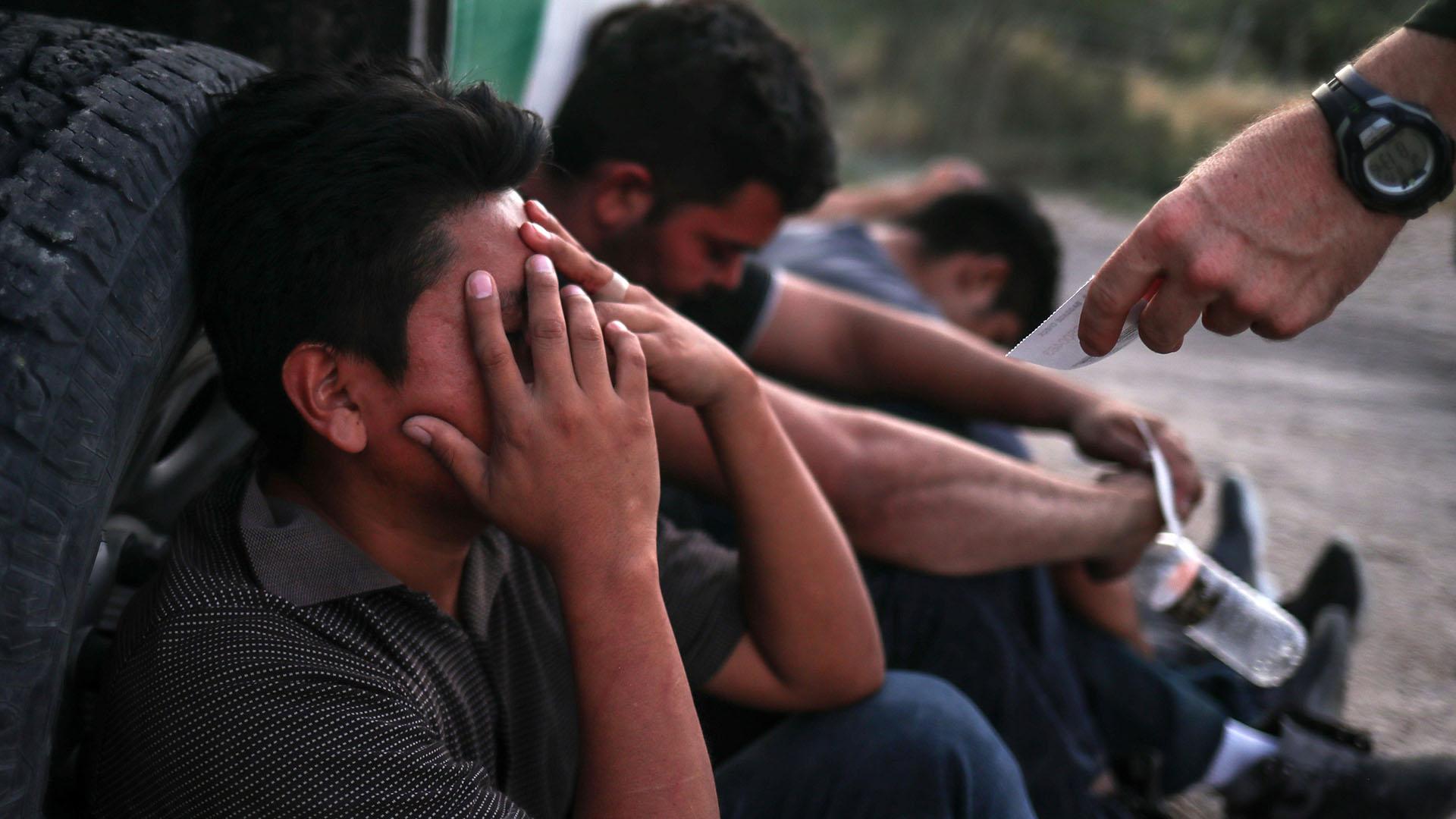 La Patrulla Fronteriza estima que los arrestos pueden llegar a 90.000. (Reuters)