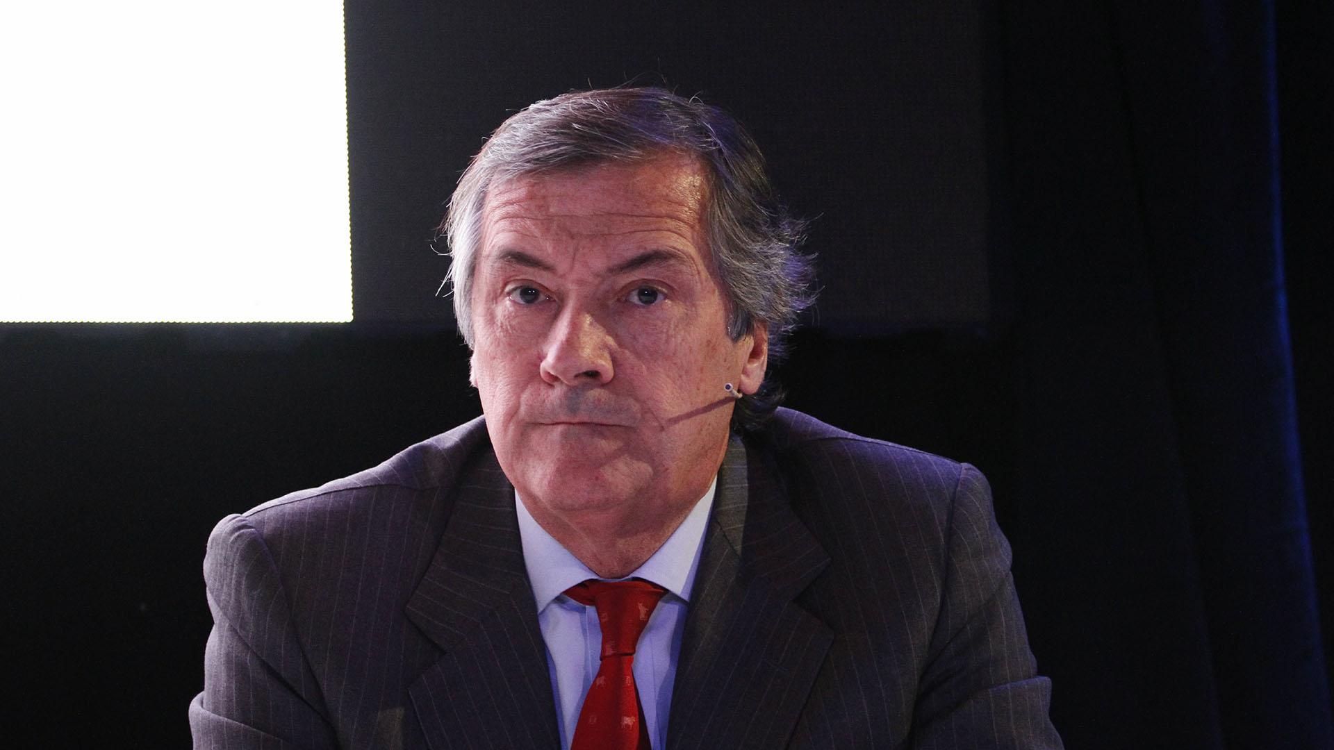 Enrique Cristofani, presidente de Banco Santander Río