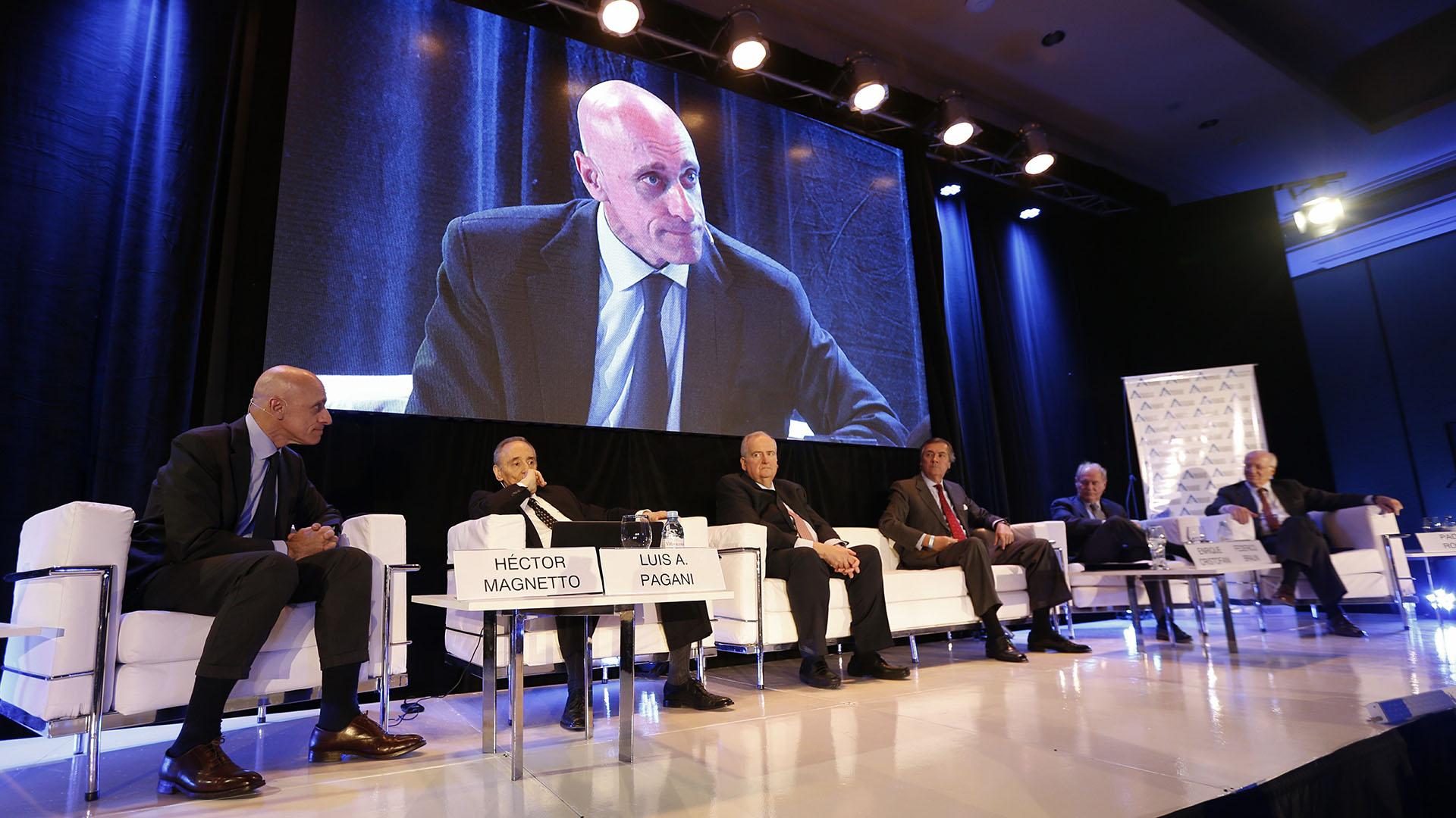 Carlos Pagni, Magnetto, Pagani, Cristofani, Braun y Rocca