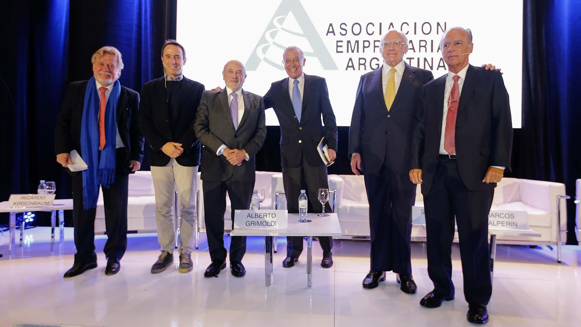 Ricardo Kirschbaum, de Clarín, Galperín, Grimoldi, Bagó y Bulgheroni