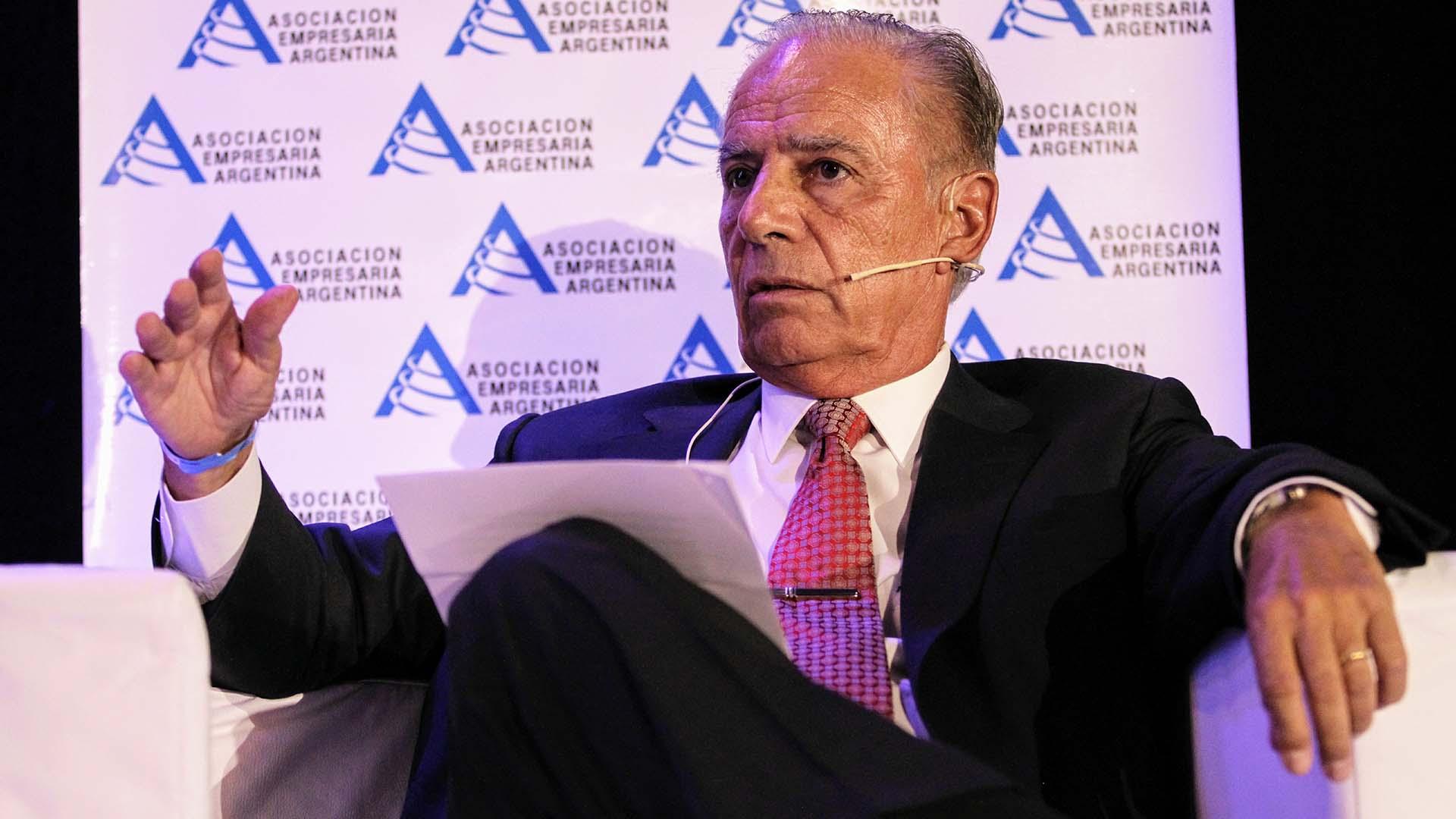 Alejandro Bulgheroni, presidente de Pan American Energy