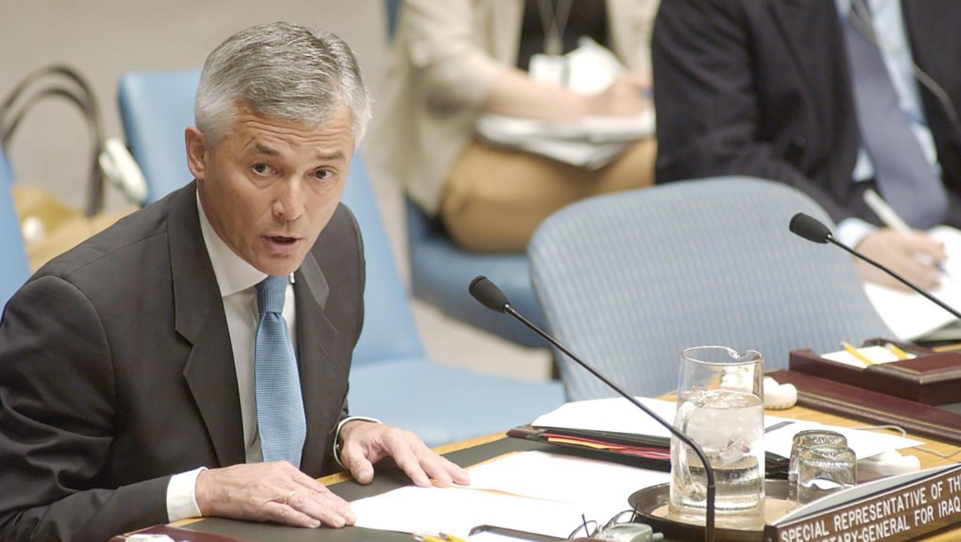 Sergio Vieira de Mello, Brazilian diplomat and former UN High Commissioner for Human Rights