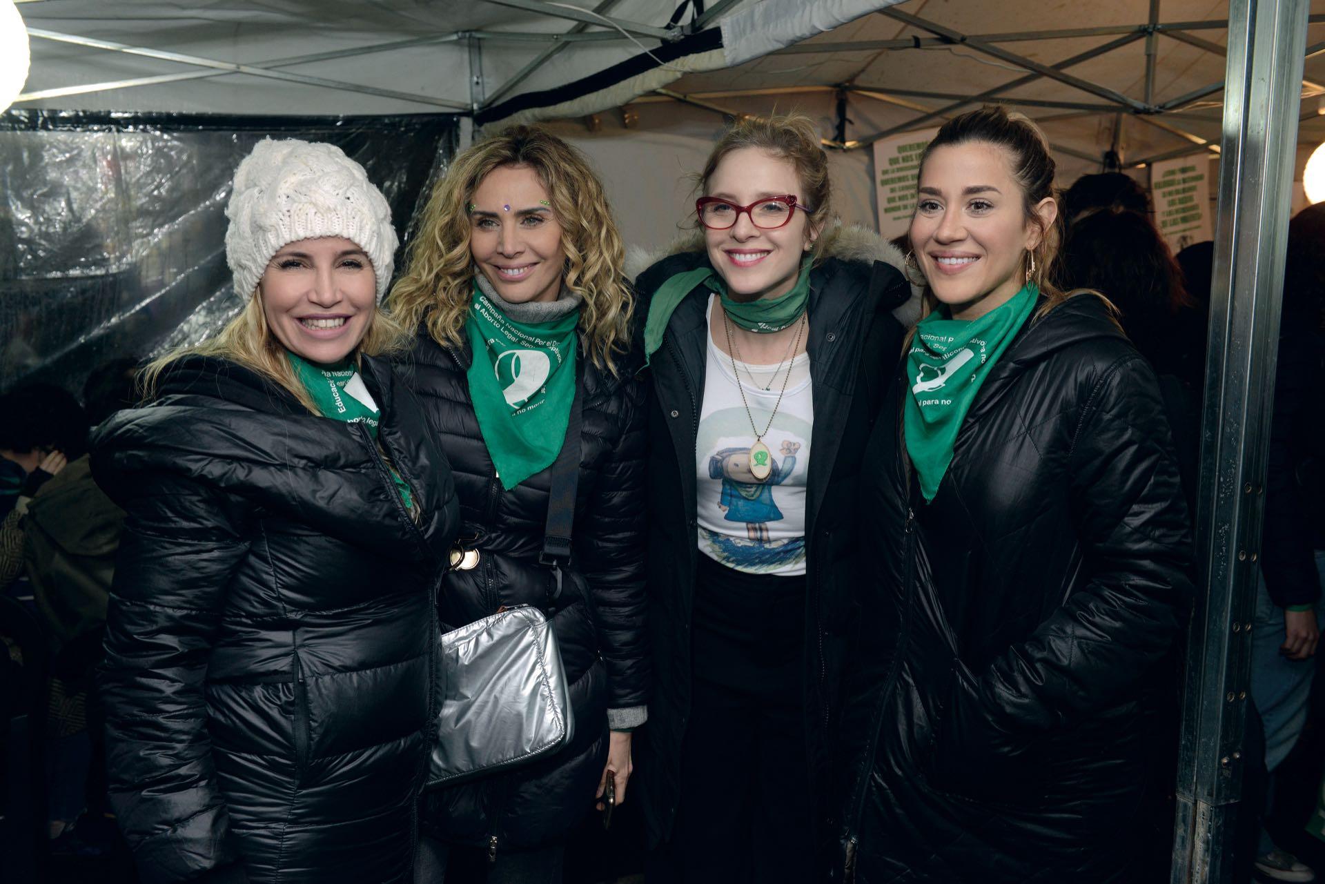 Florencia Peña, Adriana Salonia, Carla Peterson y Jimena Barón