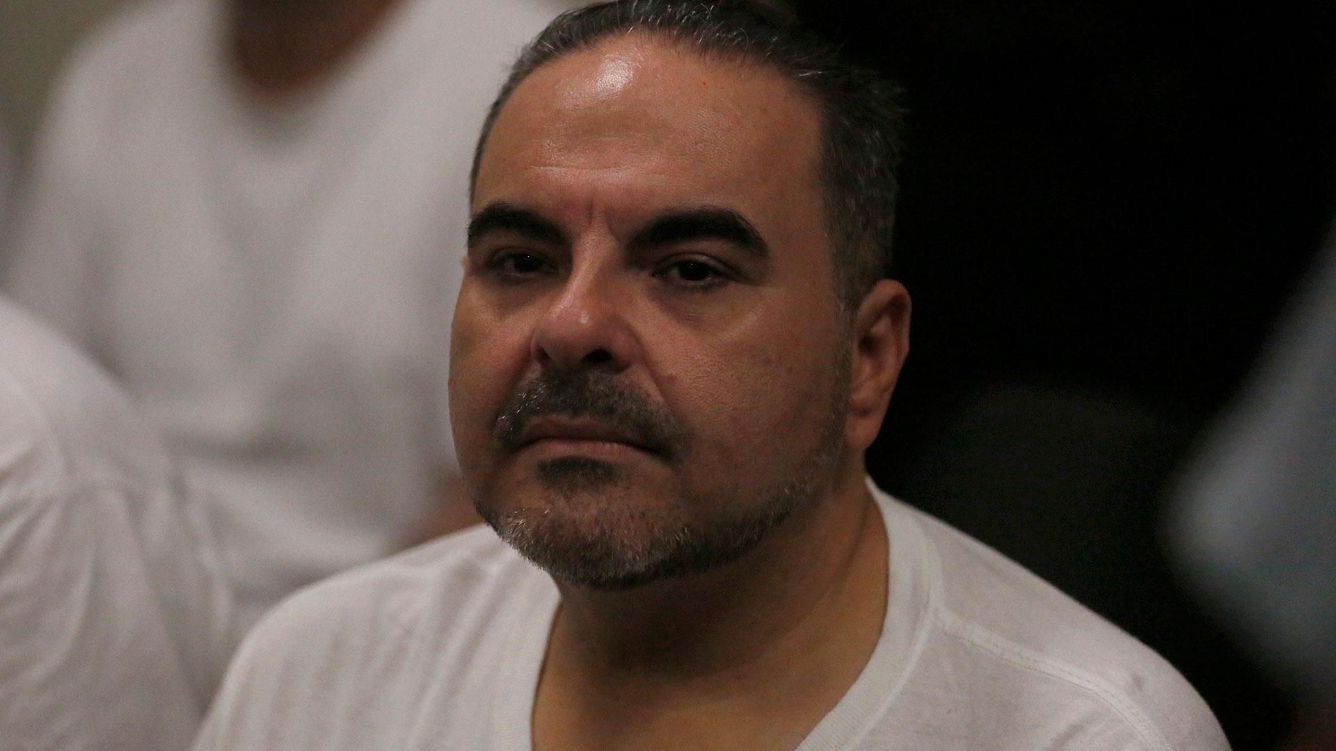 """El ex presidente Elías Antonio """"Tony"""" Saca, al confesar sus delitos la semana pasado en los tribunales salvadoreños (Reuters)"""