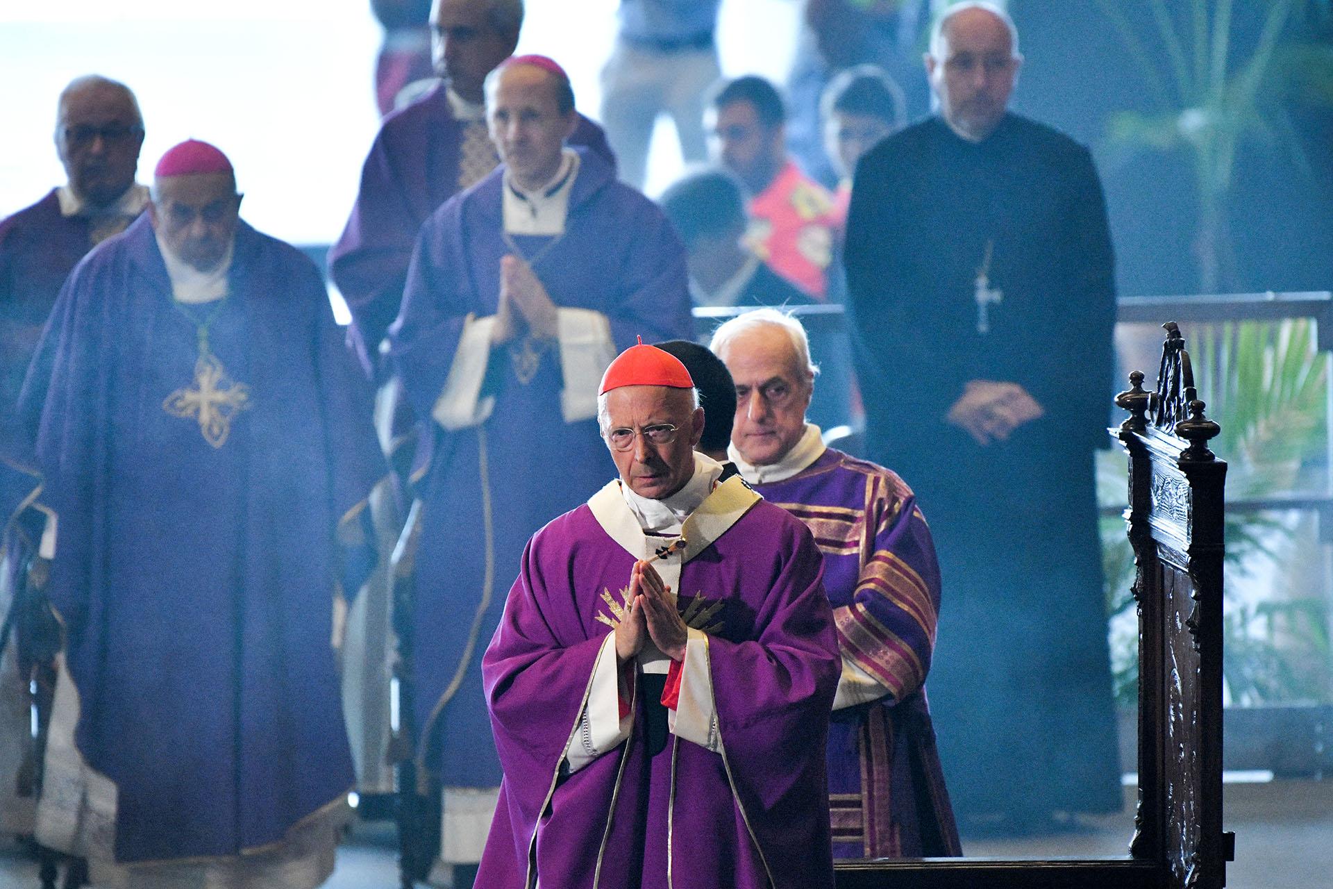 Hubo una misa en homenaje a las víctimas. AFP PHOTO / Piero CRUCIATTI