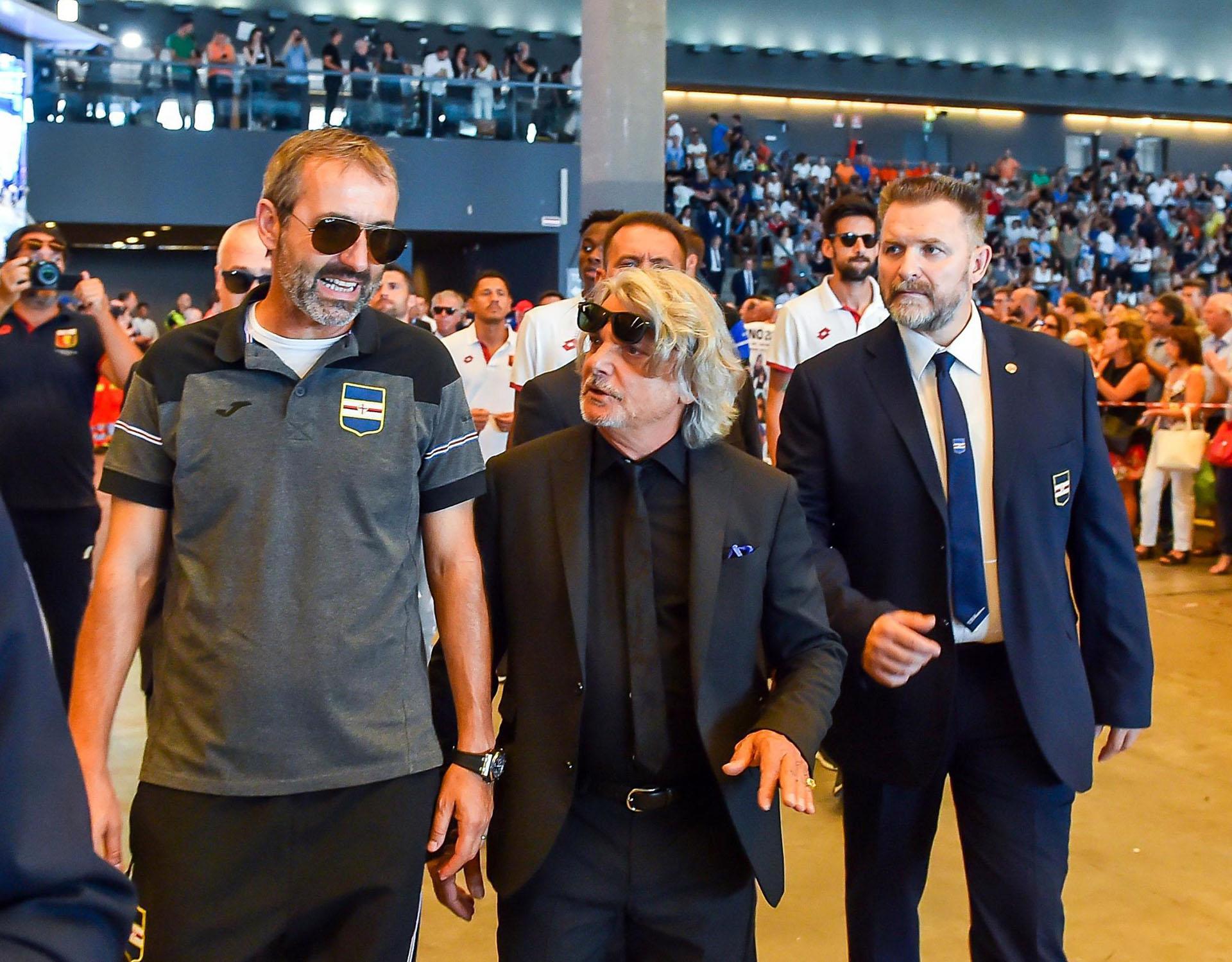 Los partidos del Sampdoria y del Genoa fueron postergados (Simone Arveda/ANSA via AP)