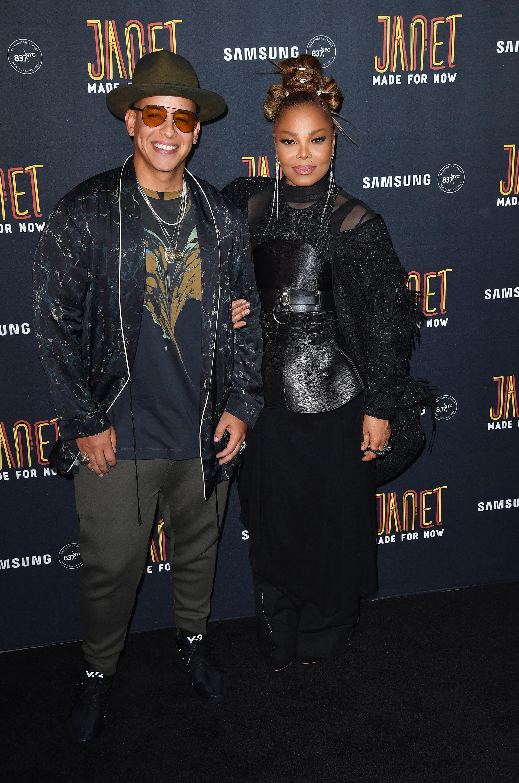 Daddy Yankee y Janet Jackson con estilos bien diferentes