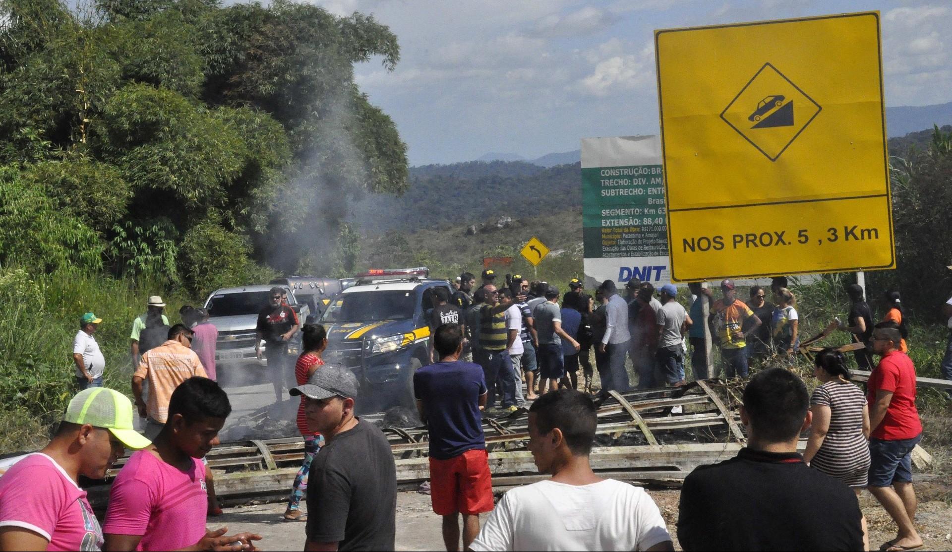 La tensión entre venezolanos y brasileños ha aumentado hasta llegar a episodios de violencia (EFE)