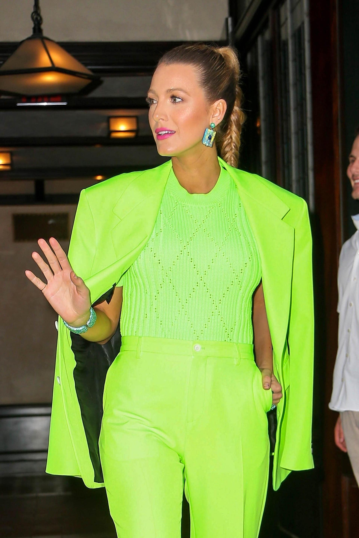 Fabulosa y dueña de una esbelta figura, Blake siempre marca tendencia con sus looks /// Fotos: The Grosby Group