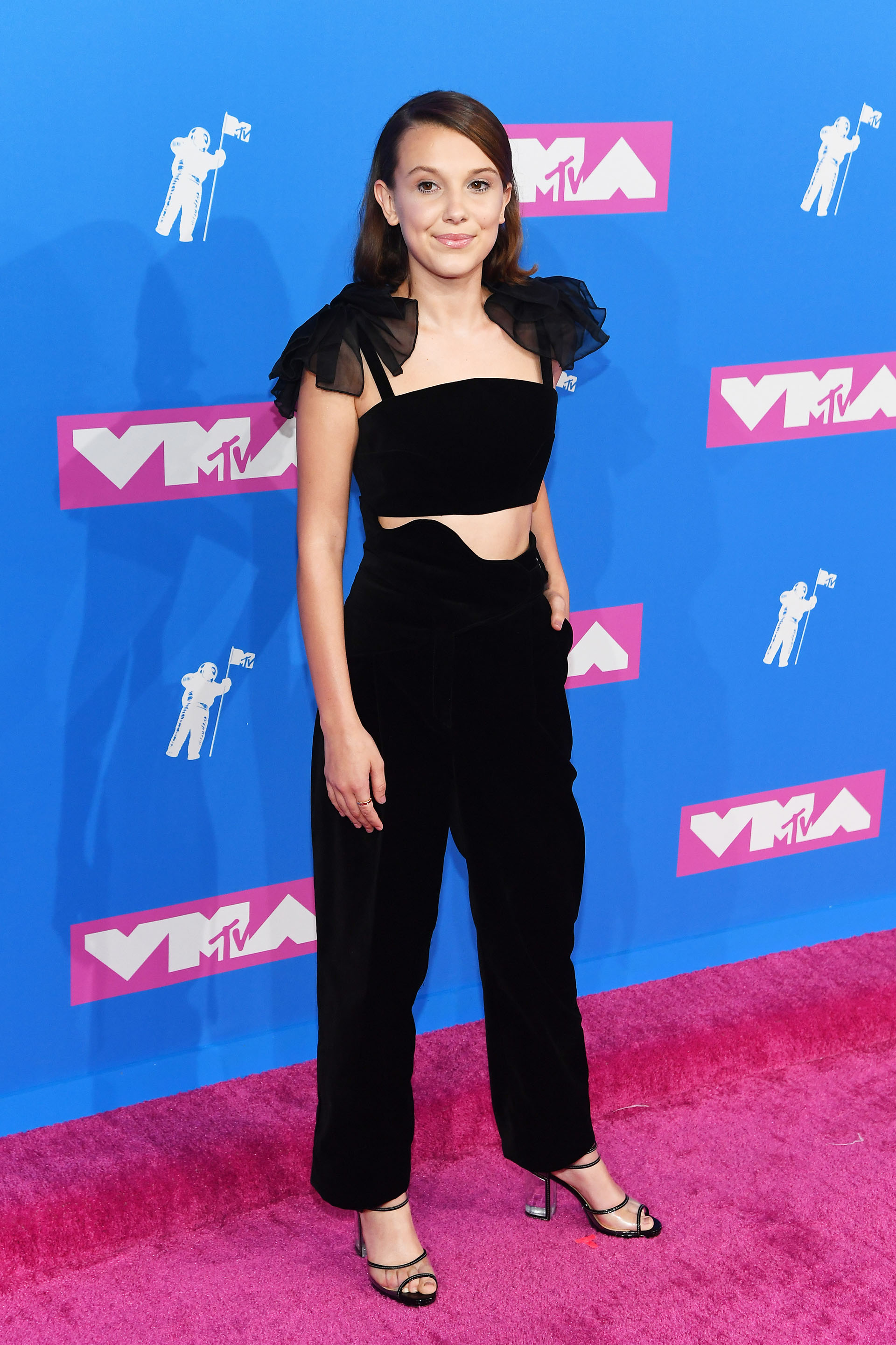 Millie Bobby Brown (Nicholas Hunt/Getty Images for MTV/AFP)